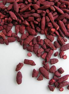 rice fermented with red yeast