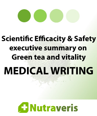 Scientific Efficacy & Safety executive summary on Green tea (Camellia sinensis L.) and vitality